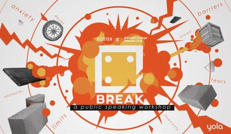 Break: A Public Speaking workshop with Broward College Debate club