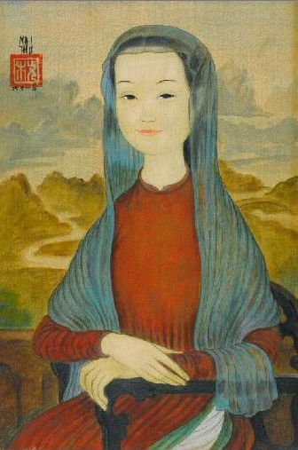 Vietnamese Mona Lisa - Example of cultural syncretism born from colonization